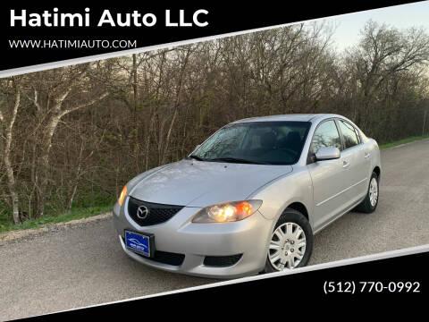 2006 Mazda MAZDA3 for sale at Hatimi Auto LLC in Buda TX