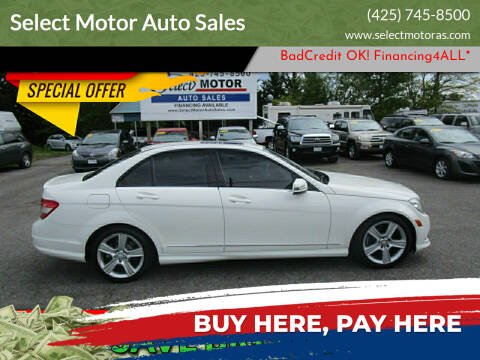 2011 Mercedes-Benz C-Class for sale at Select Motor Auto Sales in Lynnwood WA