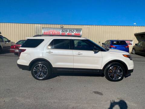 2015 Ford Explorer for sale at Stikeleather Auto Sales in Taylorsville NC