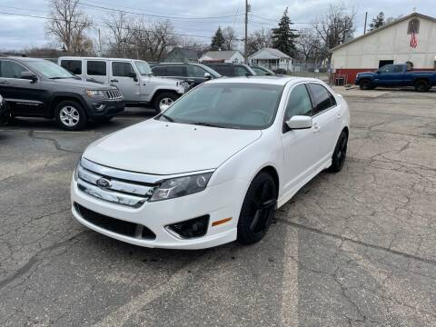 2011 Ford Fusion for sale at Dean's Auto Sales in Flint MI