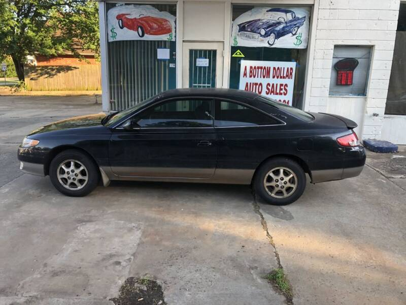 2000 Toyota Camry Solara for sale at A BOTTOM DOLLAR AUTO SALES in Shawnee OK