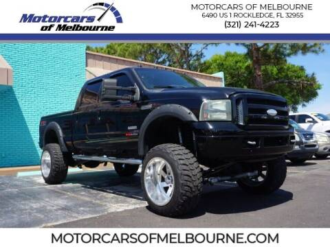 2007 Ford F-250 for sale at Motorcars of Melbourne in Rockledge FL