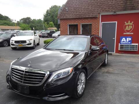 2015 Mercedes-Benz S-Class for sale at AP Automotive in Cary NC