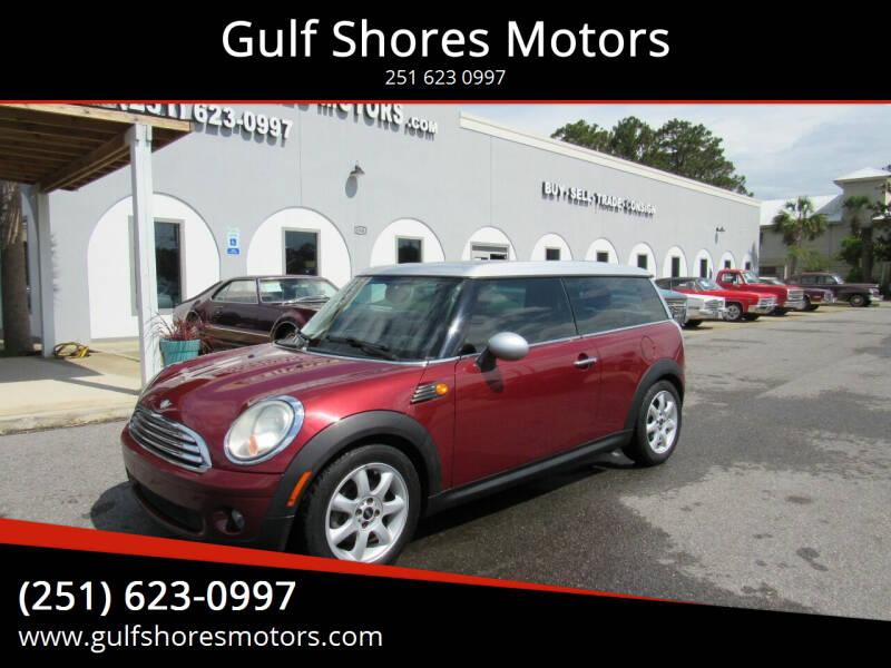 2010 MINI Cooper Clubman for sale at Gulf Shores Motors in Gulf Shores AL