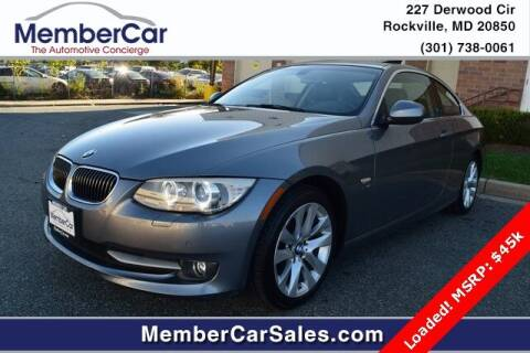 2011 BMW 3 Series for sale at MemberCar in Rockville MD