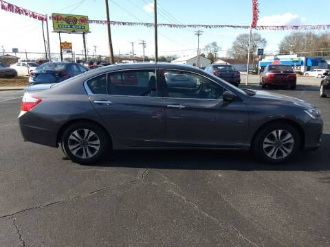 2015 Honda Accord for sale at Kenny's Auto Sales Inc. in Lowell NC
