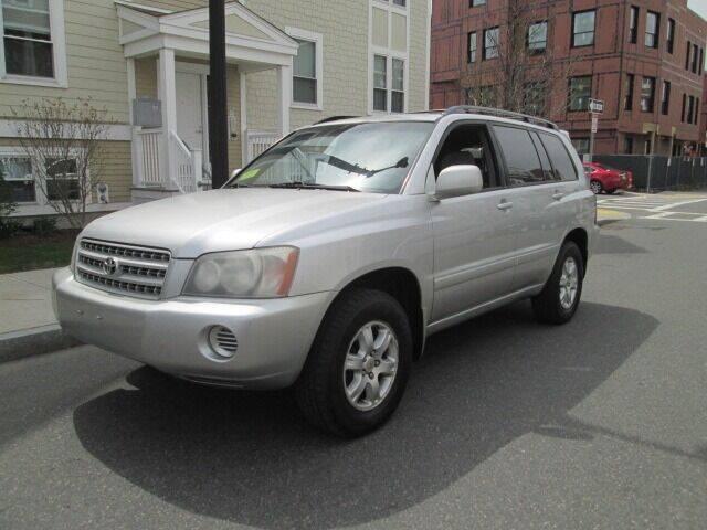 2002 Toyota Highlander for sale at Boston Auto Sales in Brighton MA