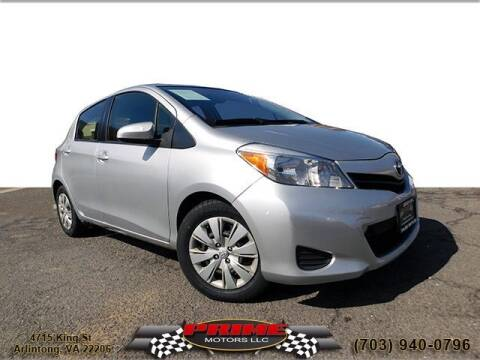 2013 Toyota Yaris for sale at PRIME MOTORS LLC in Arlington VA