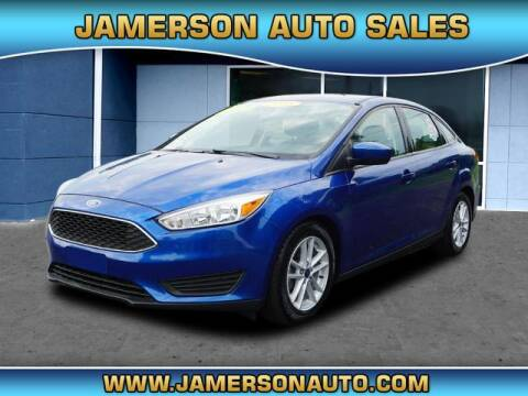 2018 Ford Focus for sale at Jamerson Auto Sales in Anderson IN
