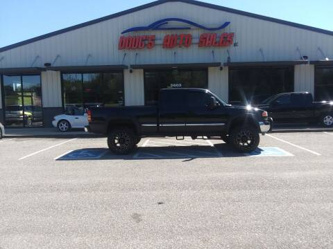 2002 GMC Sierra 1500 for sale at DOUG'S AUTO SALES INC in Pleasant View TN