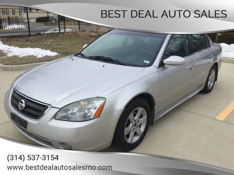 2002 Nissan Altima for sale at Best Deal Auto Sales in Saint Charles MO