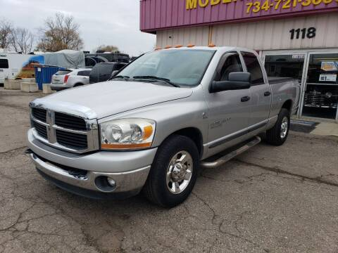 2006 Dodge Ram Pickup 2500 for sale at Modern Classics Car Lot in Westland MI