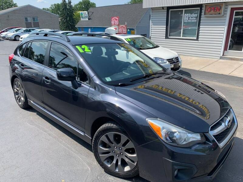 2012 Subaru Impreza for sale at OZ BROTHERS AUTO in Webster NY