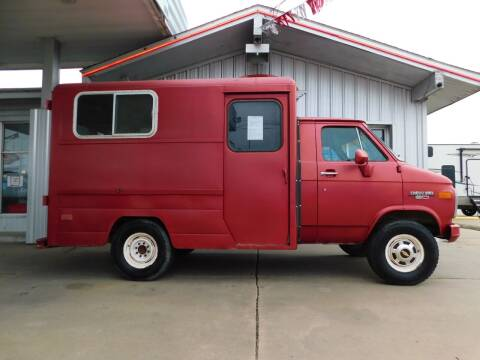 1986 Chevrolet Chevy Van for sale at Motorsports Unlimited in McAlester OK