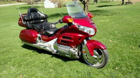 2002 Honda Goldwing for sale at Gary Miller's Classic Auto in El Paso IL