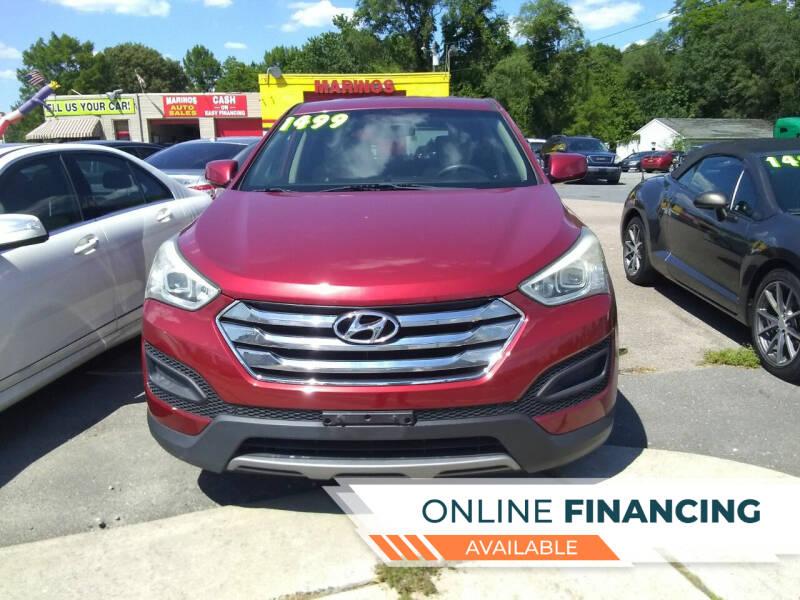 2013 Hyundai Santa Fe Sport for sale at Marino's Auto Sales in Laurel DE