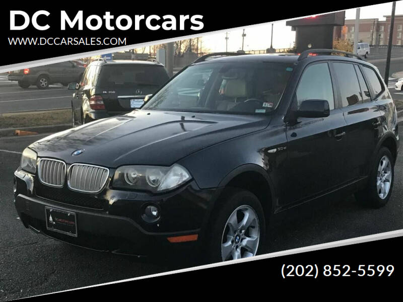 2008 BMW X3 for sale at DC Motorcars in Springfield VA