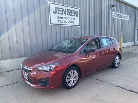 2018 Subaru Impreza for sale at Jensen's Dealerships in Sioux City IA