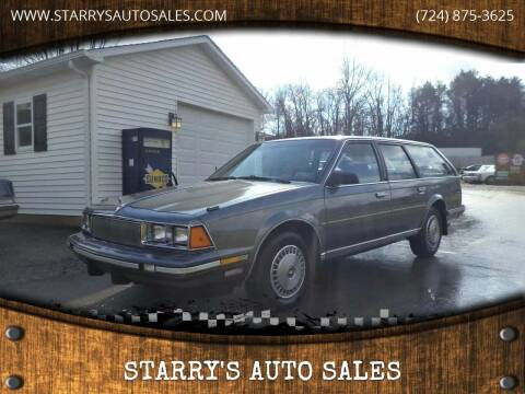 1985 Buick Century for sale at STARRY'S AUTO SALES in New Alexandria PA
