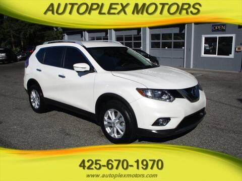 2015 Nissan Rogue for sale at Autoplex Motors in Lynnwood WA