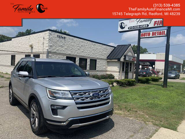2018 Ford Explorer for sale at The Family Auto Finance in Redford MI
