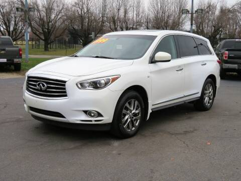 2014 Infiniti QX60 for sale at Low Cost Cars North in Whitehall OH
