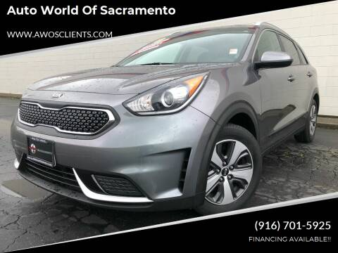 2017 Kia Niro for sale at Auto World of Sacramento Stockton Blvd in Sacramento CA