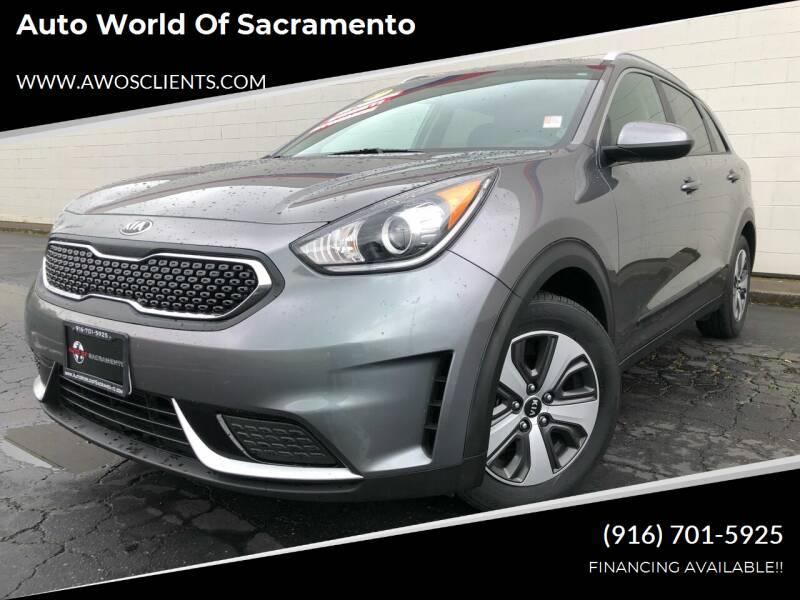 2017 Kia Niro for sale at Auto World of Sacramento Stockton Blvd in Sacramento CA