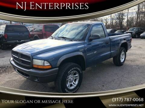 2002 Dodge Dakota for sale at NJ Enterprises in Indianapolis IN