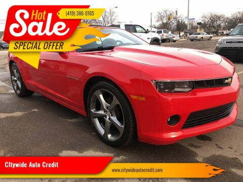 2014 Chevrolet Camaro for sale at CItywide Auto Credit in Oregon OH