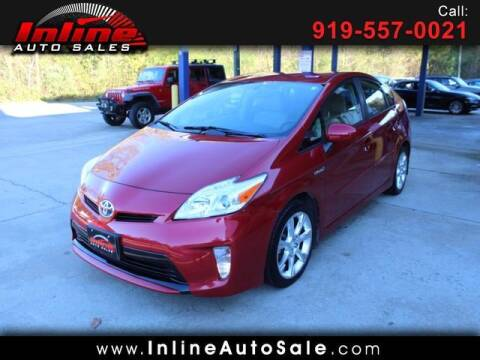 2014 Toyota Prius for sale at Inline Auto Sales in Fuquay Varina NC