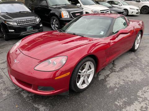 2008 Chevrolet Corvette for sale at APX Auto Brokers in Edmonds WA