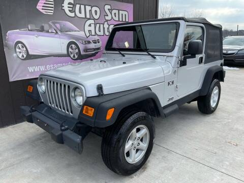 2006 Jeep Wrangler for sale at Euro Auto in Overland Park KS