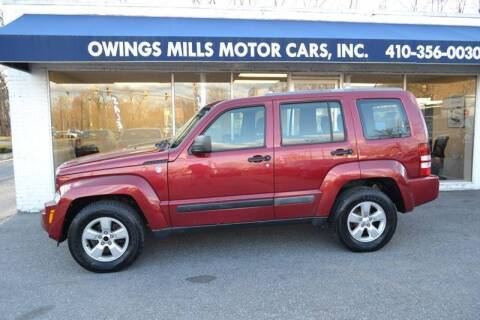 2012 Jeep Liberty for sale at Owings Mills Motor Cars in Owings Mills MD