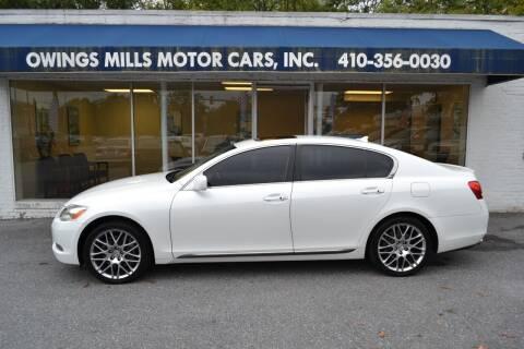 2007 Lexus GS 350 for sale at Owings Mills Motor Cars in Owings Mills MD