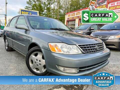 2003 Toyota Avalon for sale at High Rated Auto Company in Abingdon MD