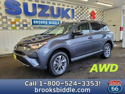 2017 Toyota RAV4 Hybrid for sale at BROOKS BIDDLE AUTOMOTIVE in Bothell WA