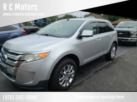 2011 Ford Edge for sale at R C Motors in Lunenburg MA