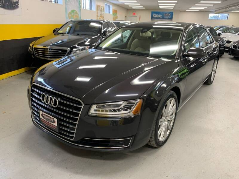2015 Audi A8 L for sale at Newton Automotive and Sales in Newton MA