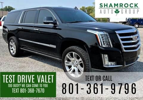 2016 Cadillac Escalade ESV for sale at Shamrock Group LLC #1 in Pleasant Grove UT