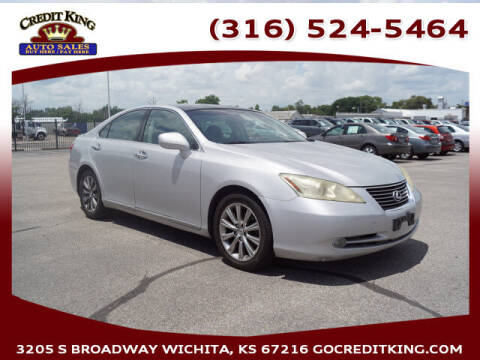 2007 Lexus ES 350 for sale at Credit King Auto Sales in Wichita KS