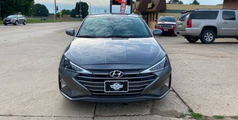 2019 Hyundai Elantra for sale at Mulder Auto Tire and Lube in Orange City IA