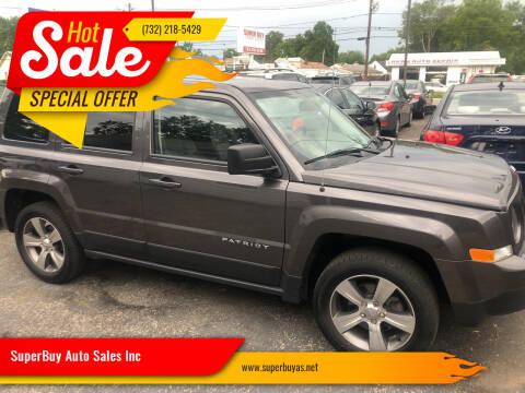 2017 Jeep Patriot for sale at SuperBuy Auto Sales Inc in Avenel NJ