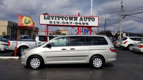 2005 Honda Odyssey for sale at Levittown Auto in Levittown PA