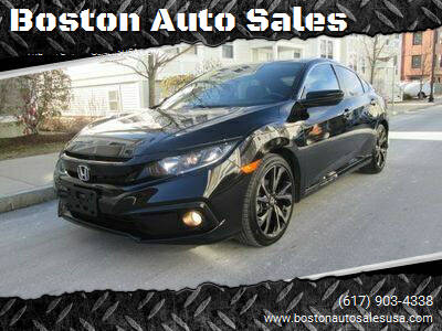 2019 Honda Civic for sale at Boston Auto Sales in Brighton MA