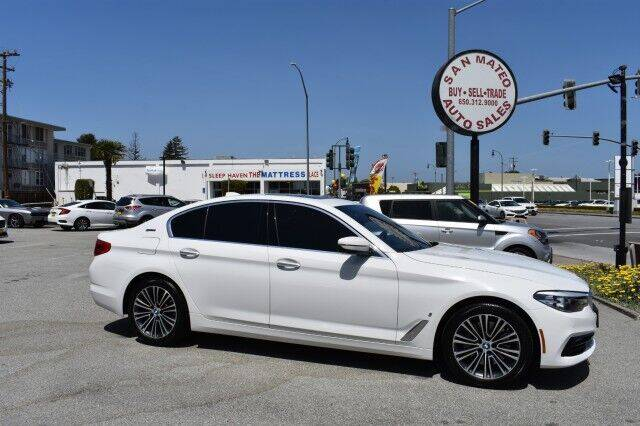 2018 BMW 5 Series for sale at San Mateo Auto Sales in San Mateo CA