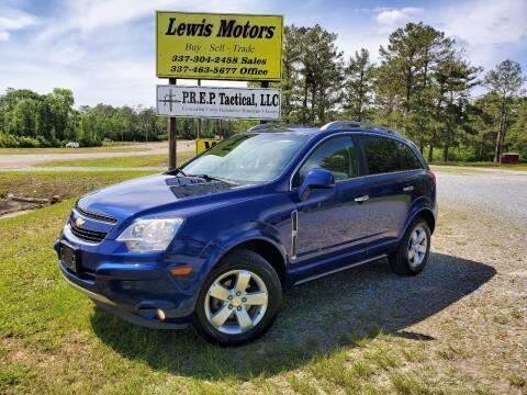 2012 Chevrolet Captiva Sport for sale at Lewis Motors LLC in Deridder LA
