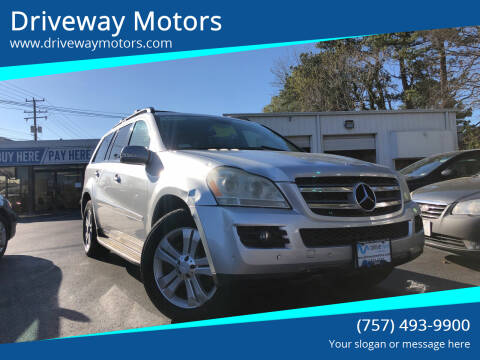 2008 Mercedes-Benz GL-Class for sale at Driveway Motors in Virginia Beach VA