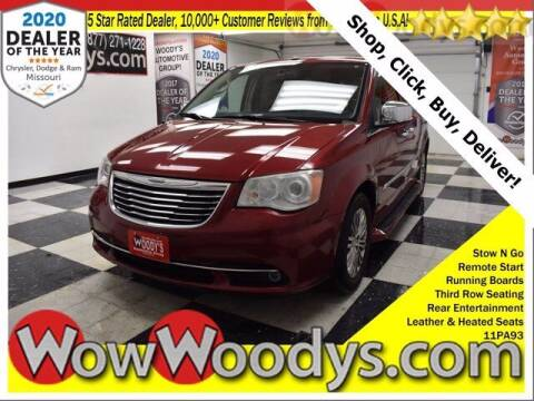 2011 Chrysler Town and Country for sale at WOODY'S AUTOMOTIVE GROUP in Chillicothe MO