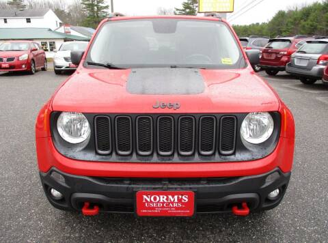 2016 Jeep Renegade for sale at Norm's Used Cars INC. in Wiscasset ME